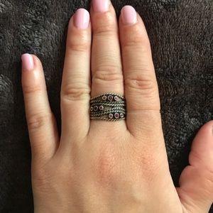 Pandora size 6 spiral ring
